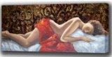 Figura desnuda decorativa aceite Pianting (ADA9510)