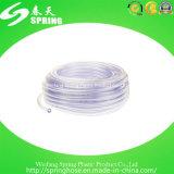 Tube de niveau clair transparent flexible de PVC de plastique