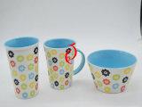 350ml白いカラー昇進のための陶磁器のコーヒー・マグ