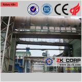 Automatização do alto nível da estufa giratória do minério