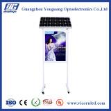 Double cadre actionné solaire latéral d'éclairage LED