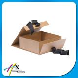 Papel especial recubierto de chocolate de lujo ropa de cartón caja de regalo bufanda