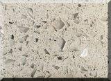 Pedra artificial de quartzo para o material de construção de superfície contínuo do Countertop/