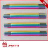 Regla de plegamiento de colores 1,6 millones de 8 pliegues de madera para el regalo promocional
