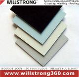 El panel plástico de aluminio con el vario color para interior o el exterior usar