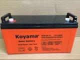 12V 120ahの電気通信のための太陽深いサイクルのゲル電池、太陽系