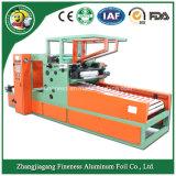 Rebobinage de papier d'aluminium et machine de découpage pour le ménage