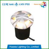 12V 6 luz del jardín de la luz pilota LED Inground