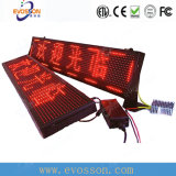 Single Color LED Sign P10 Couleur rouge Autre couleur