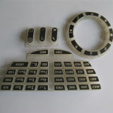 Tecla feita sob encomenda da borracha de silicone do elastómetro para o controlador remoto