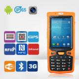 Supporto RFID/Barcode/WiFi/3G/GPS del collettore di dati di Quadrato-Memoria di Jepower Ht380A