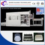 Máquina plástica automática de Thermoforming para los alimentos de preparación rápida de la placa de la bandeja de la medicina del rectángulo de las tapas