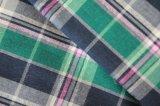Tela Yarn-Dyed de la guinga del poliester (QDFAB-2908)