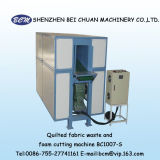 Máquina de estaca Waste acolchoada da espuma