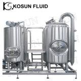 Máquina de la cerveza de la fabricación de la cerveza del acero inoxidable