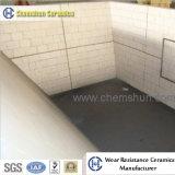 Fodera di ceramica di Chemshun per il rivestimento dello scivolo nel trasporto materiale