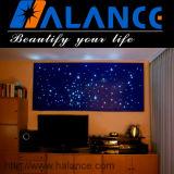 Muur van de van achtergrond TV van Halance Licht van de Vezel het Optische