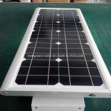 50W al aire libre todos en una luz de calle de la energía solar LED