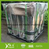 수증기 방벽은 길쌈한 직물에 의하여 박판으로 만들어진 알루미늄 호일을 꿰뚫었다