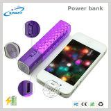 Batería portable de la potencia con la luz de la antorcha del LED