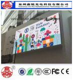 P8 tela LED de alta definição ao ar livre tela de publicidade quente
