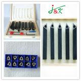 Conjuntos de ferramentas de torneamento indexáveis ao carboneto de qualidade superior