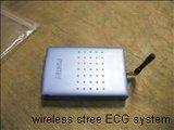 무선 원격 측정법 긴장 ECG 시스템