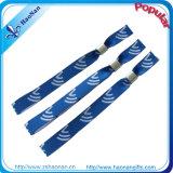 Gute QualitätsjacquardwebstuhlWristband verwendet für förderndes Geschenk