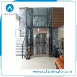 En81 elevatore domestico panoramico di vetro completo standard, elevatore della villa 400kg