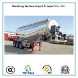 고품질 40cbm 알루미늄 대량 시멘트 유조선 트레일러