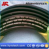 A mangueira hidráulica do SAE 100r1at/fio resistente do petróleo um trança a mangueira de alta pressão