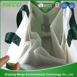 Promotional su ordinazione Non Woven 6 Packed Bottles Wine Tote Bag con la X Stitched (MECO190)