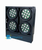 48*1W/3W/5W LED RGB/RGBW/RGBA/UV/Wa LED 4 곁눈 가리개 빛