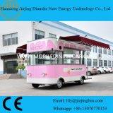 Carro relativo à promoção do gelado com a máquina do gelado da alta qualidade para dentro