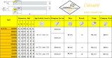 Cutoutil Mclnr/L 1616h12 pour Hardmetal en acier appariant les outils de rotation normaux
