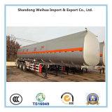 40 Cbm 기름 연료 탱크 트럭, Fuwa 3개의 차축을%s 가진 반 유조선 트레일러