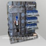 Présentoir en métal pour la publicité de shampooing