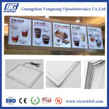 Snap Frame LED Light Box; Painel de menus LED