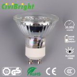 5W GU10 LED Bulbo Dimmable Glass Shell LED Lamp Spotlight