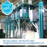 Mais-Mehl-Fräsmaschinen, Mais-Prägemaschinerie für Verkauf in Afrika