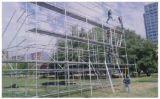 Système durable sûr galvanisé d'échafaudage d'Anneau-Serrure