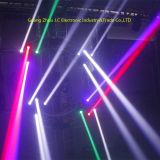 [لد] مستديرة 4 رئيسيّة [12و] [رغبو] [4ين1] متحرّك رئيسيّة حزمة موجية ضوء