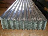 Galvalumeの側面パネルかGalvalumeの屋根ふきの金属板