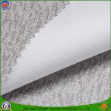 Tissu de flocage imperméable à l'eau de rideau en polyester tissé par arrêt total de 2017 francs de textile à la maison