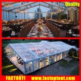 шатер рождественской вечеринки 20X40m для банкета с мебелью освещения Charis таблиц
