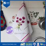 Напечатанное таможней полотенце чая кухни одуванчика