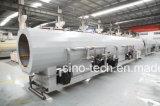 Chaîne de production en plastique d'extrusion de pipe d'eaux d'égout de HDPE