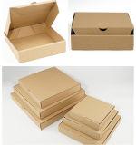 Таможня рециркулирует изготовление коробки пиццы гофрированной бумага E- каннелюру