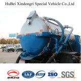 Camion de camion d'eaux d'égout d'aspiration de Feng 6cbm de dong