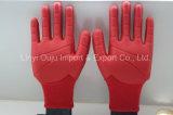 Le gant enduit par PVC de choc avec TPR, gant d'Anti-Choc, longueur peut être personnalisé